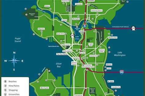 seattle washington map maps update 14882105 seattle tourist attractions map fileseattle printable tourist