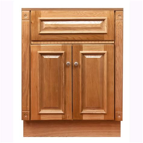 Oak Vanity Cabinets by 24 Quot X18 Quot Heritage Oak Vanity Cabinet Free Shipping Today
