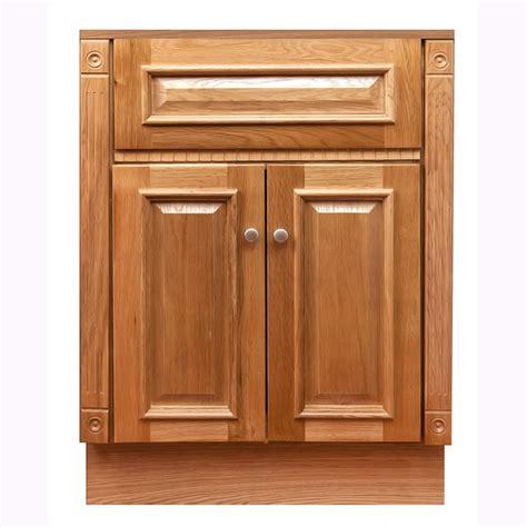Oak Bathroom Cabinet 24 Quot X18 Quot Heritage Oak Vanity Cabinet Free Shipping Today Overstock 15591101