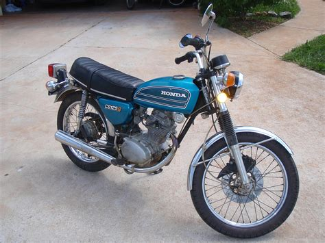 1975 Honda Cb125 1975 Honda Cb125s Ls1tech