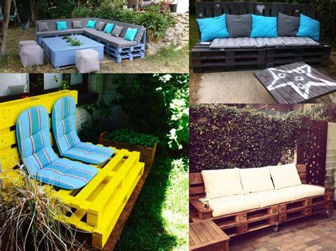 decoracion jardin ideas para la decoraci 243 n de jardines con palets