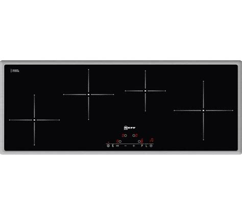 neff induction hob buy neff t45d90x2 electric induction hob black free delivery currys