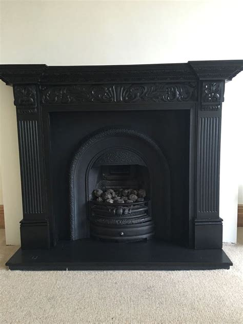 cast fireplaces best 25 black fireplace ideas on