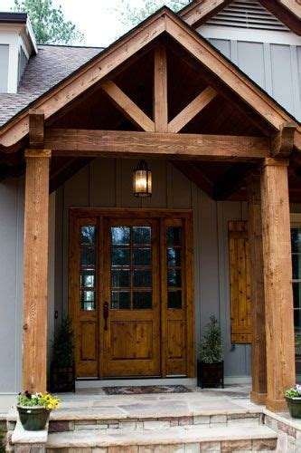 beam x front of house 25 best ideas about front porch design on pinterest