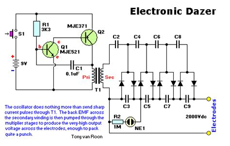 stun gun schematics circuits get free image about wiring diagram