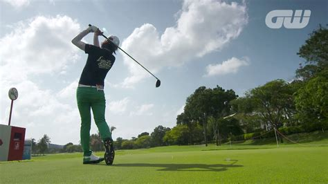 na yeon choi golf swing na yeon choi uses pre shot routine for pressure moments