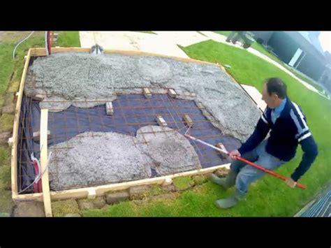 beton laten storten voor tuinhuis woodford montage fundering zonder planken vloer doovi