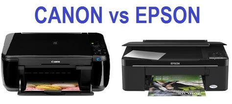 Printer Canon Dan Epson perbandingan printer canon dan printer epson bagus mana