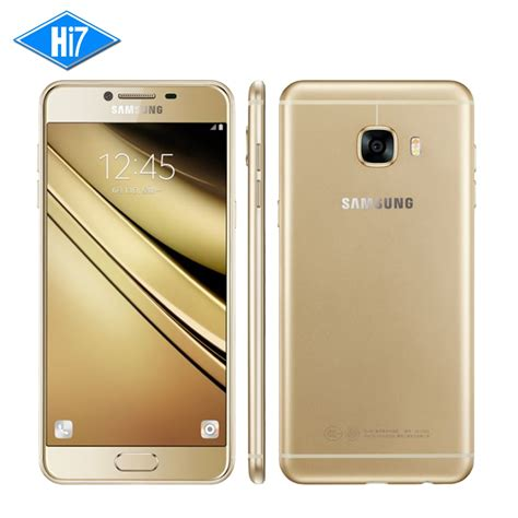 c samsung mobile new original samsung galaxy c5 c5000 cell phone snapdragon octa 5 2 inch 4gb ram 32gb 64gb