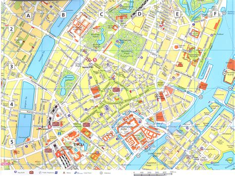 copenhagen map copenhagen downtown with index map copenhagen dk mappery
