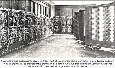 Eniac A Trip Down Memory 16k Lane Technology Amp Science