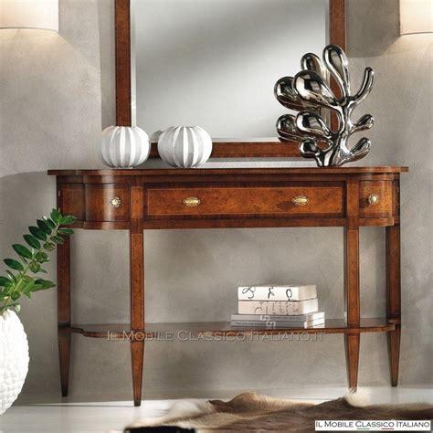 console da ingresso consolle da ingresso mobili in stile classico