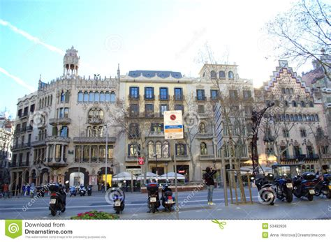 schöne architektur sch 246 ne st 228 dtische architektur barcelona redaktionelles