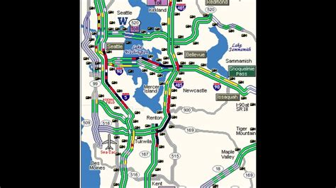 seattle map traffic here s why your commute stunk friday morning king5