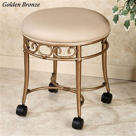 Vanity Stools On Casters by Mcclare Vanity Stool