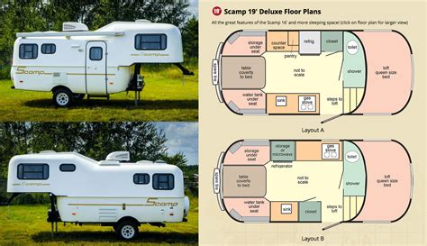 Class B Floor Plans by Small Rvs Archives Small Rv Org