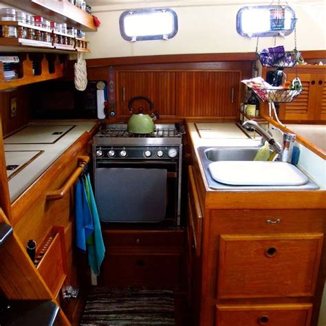sailboat kitchen 17 best images about boat kitchens on pinterest stove