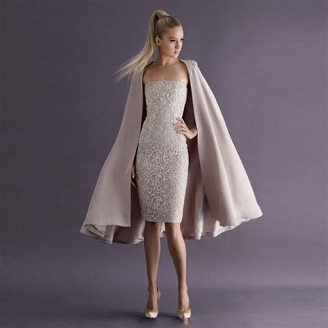 Chik Dress chic dresses with jackets knee length formal gowns