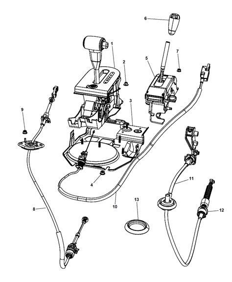 2007 jeep wrangler gear shift controls mopar parts giant