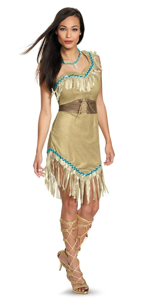 cartoon indian princess dress disney princess pocahontas indian native american adult
