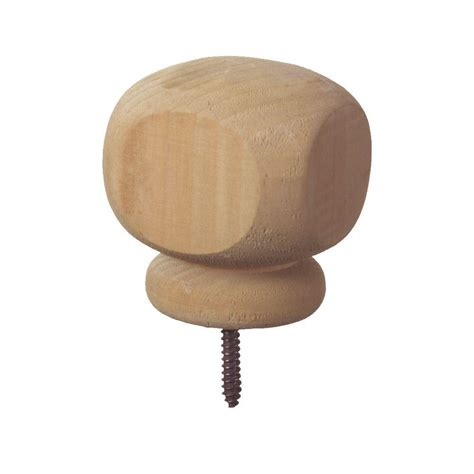 contemporary post cap finial 6 pack 189295 the home depot