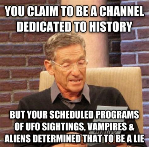 History Channel Memes - image 624565 maury lie detector know your meme