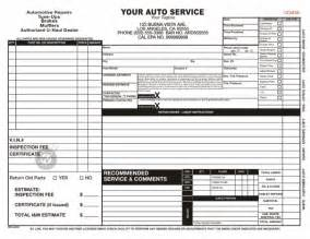 auto mechanic work order template used work order forms pictures inspirational pictures
