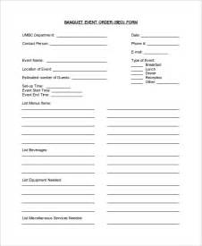 banquet event order template banquet event order form template pictures to pin on