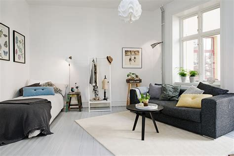 One Room Appartment tue jun 2 2015 scandinavian home designs by kate