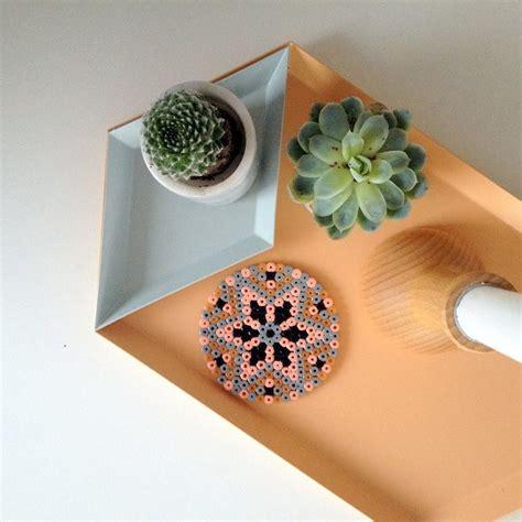 diy decor trend hama bead crafts apartment therapy
