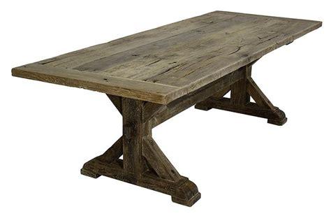 Farmhouse Trestle Dining Table Oak Trestle Table Farmhouse Tables