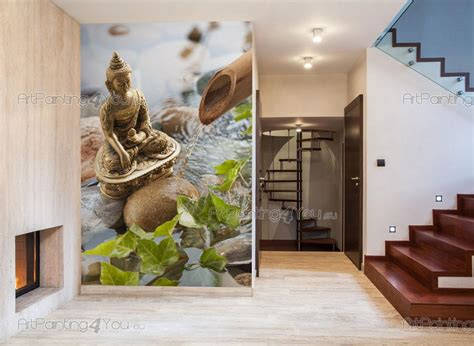 allposters wandtattoo kinderzimmer fototapeten poster buddha statue artpainting4you eu