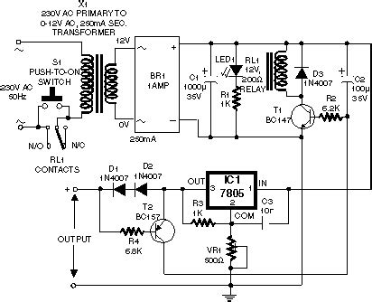 switching power supply electronic switched wiring circuit