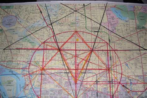 washington dc map pentagram lhohq masonic symbolism in the washington d c layout