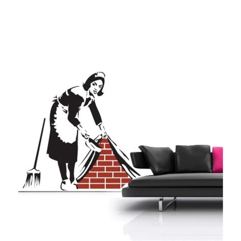 banksy wall stickers banksy wall decal wall stickers