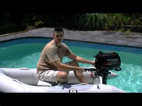 bass boat joke practical joke boat tested in swimming pool youtube