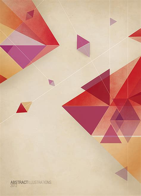 poster abstract layout abstract illustrations on behance