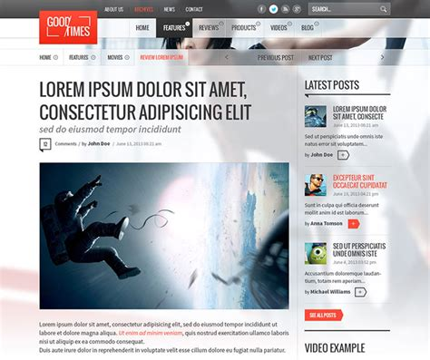 design your magazine online free 28 amazing psd magazine website templates web graphic