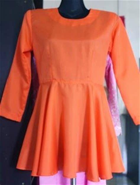 membuat pola baju blouse sweet and simple cara jahit baju kurung peeplum