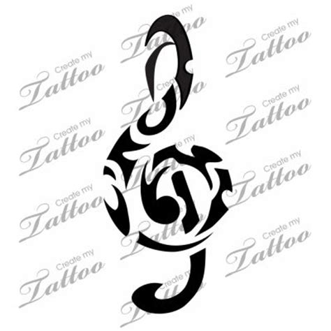 tribal music notes tattoos note notes and tattoos and on