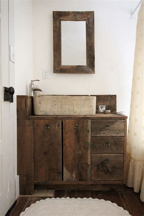 Reclaimed Bathrooms by 17 Best Images About Reclaimed Wood Vanities On