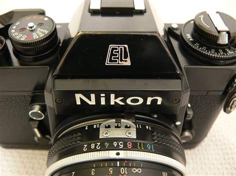 nikkormat el nikon el2 review 678 vintage cameras