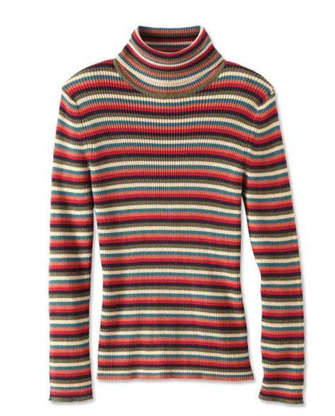 Striped Ribbed Turtleneck striped turtleneck sweater striped ribbed t neck orvis