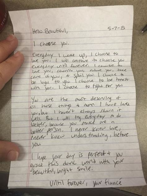 Letter To Fiance Before Wedding 15 Notes From Couples Who The Relationship Thing Pat Huffpost