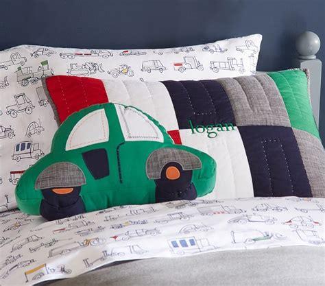 Car Shaped Pillow by Logan Car Shaped Decorative Pillow Pottery Barn