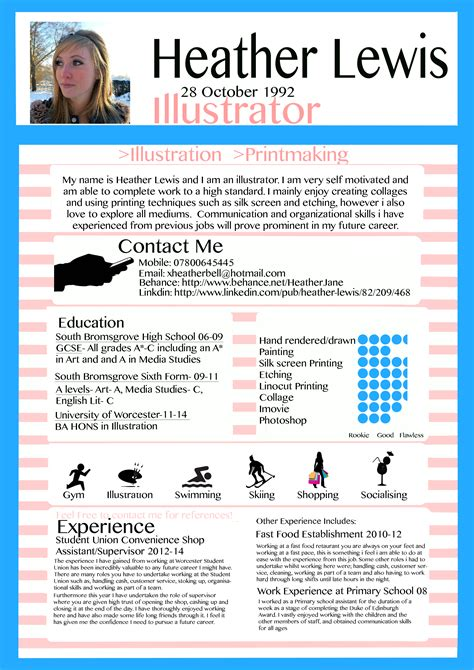 Resume About Me Creative writing a cv applying for a xheatherbell