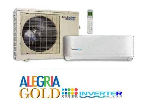 comfort star heat pump 36000 btu seer 16 230v comfortstar split air conditioner