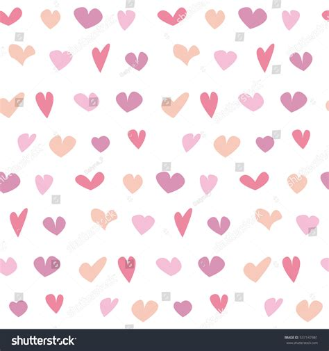 cute pattern passwords valentine seamless polka dot pattern hand stock vector