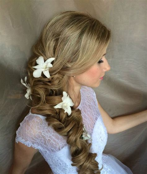 Wedding Hairstyles Hair To The Side by Side Swept Wedding Hairstyles To Inspire Mon Cheri Bridals
