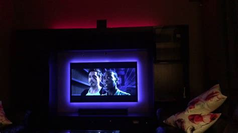 hue compatible light strips philips hue light strips behind tv youtube